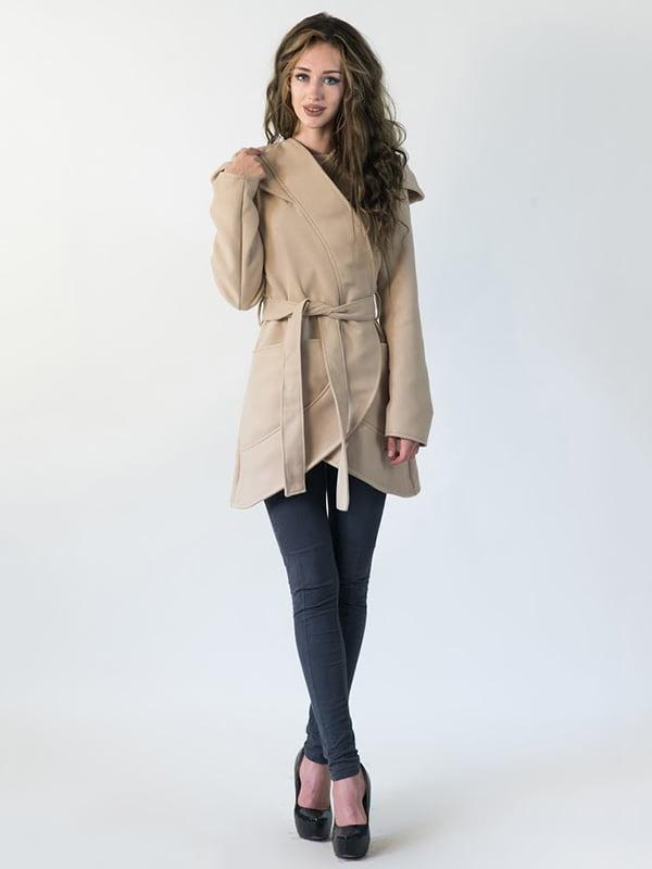 Пальто бежевое   5035240