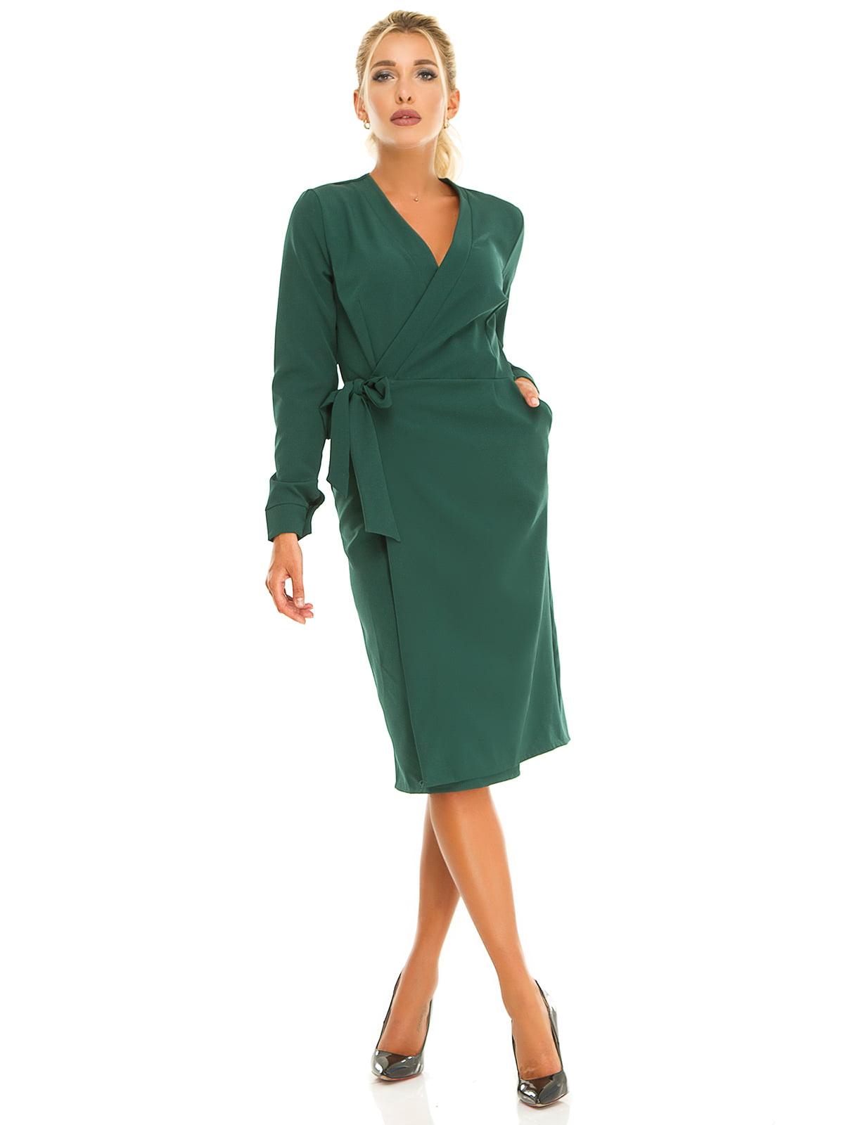 Платье нефритового цвета | 5181224