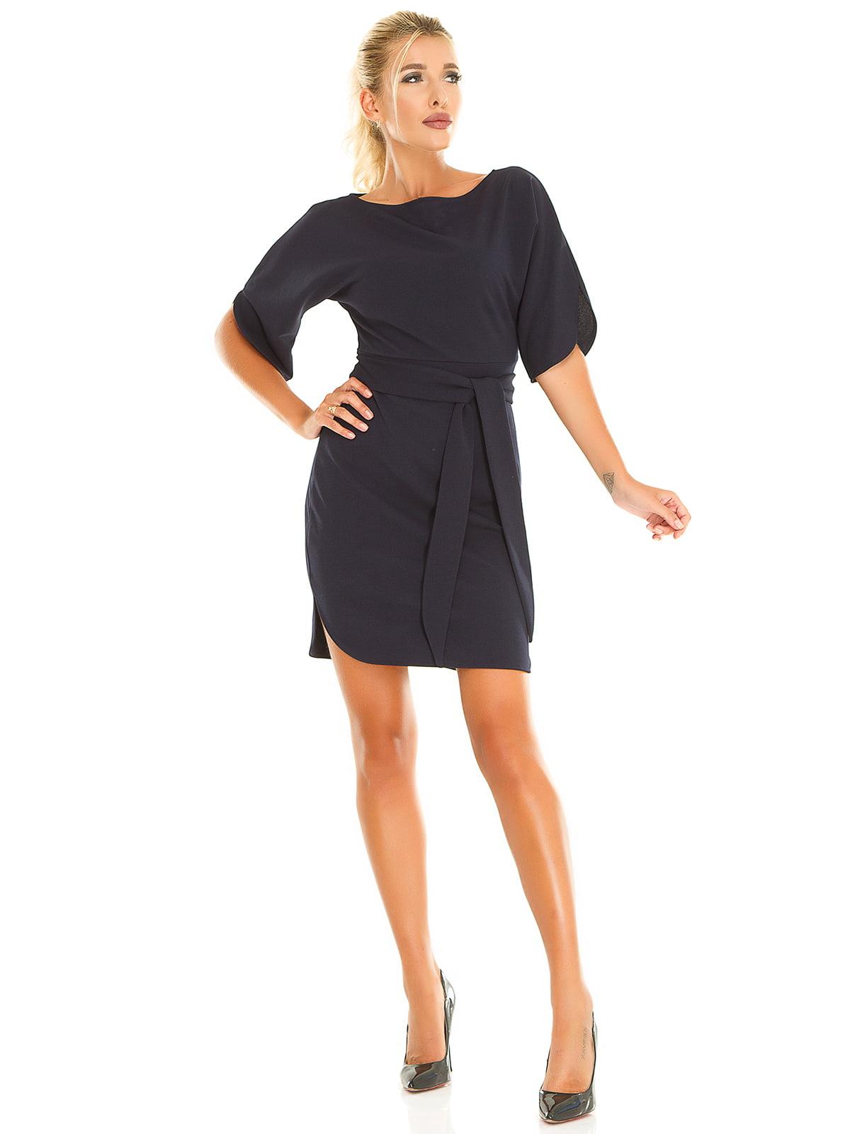 Платье темно-синее | 5181230