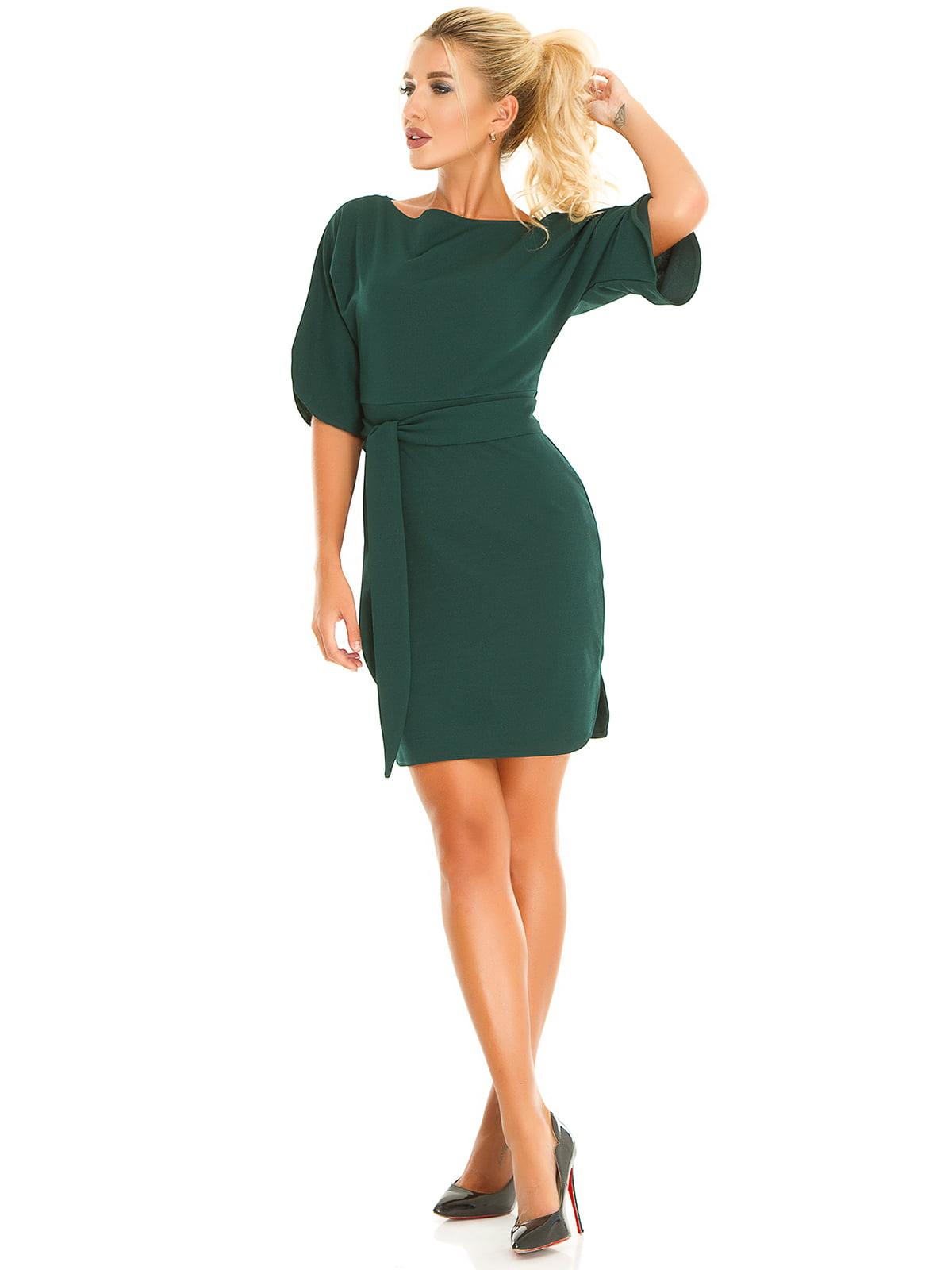 Платье изумрудного цвета | 5181231