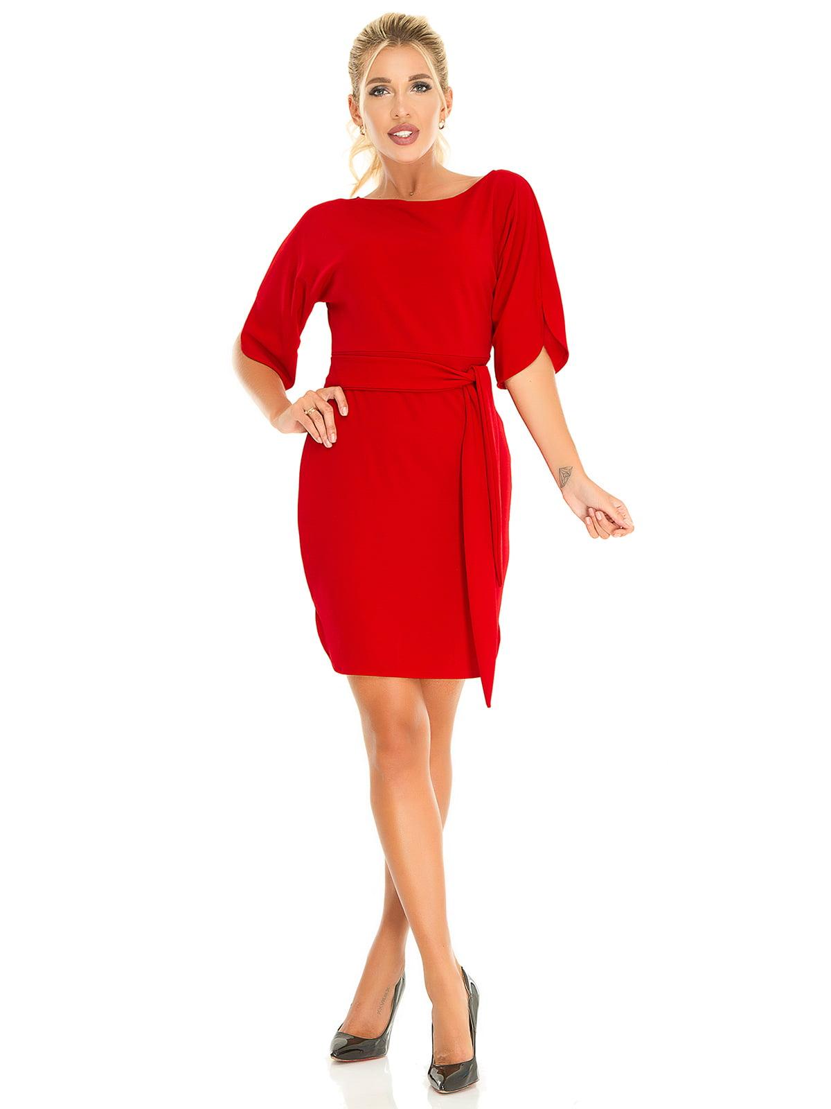 Платье красное | 5181233
