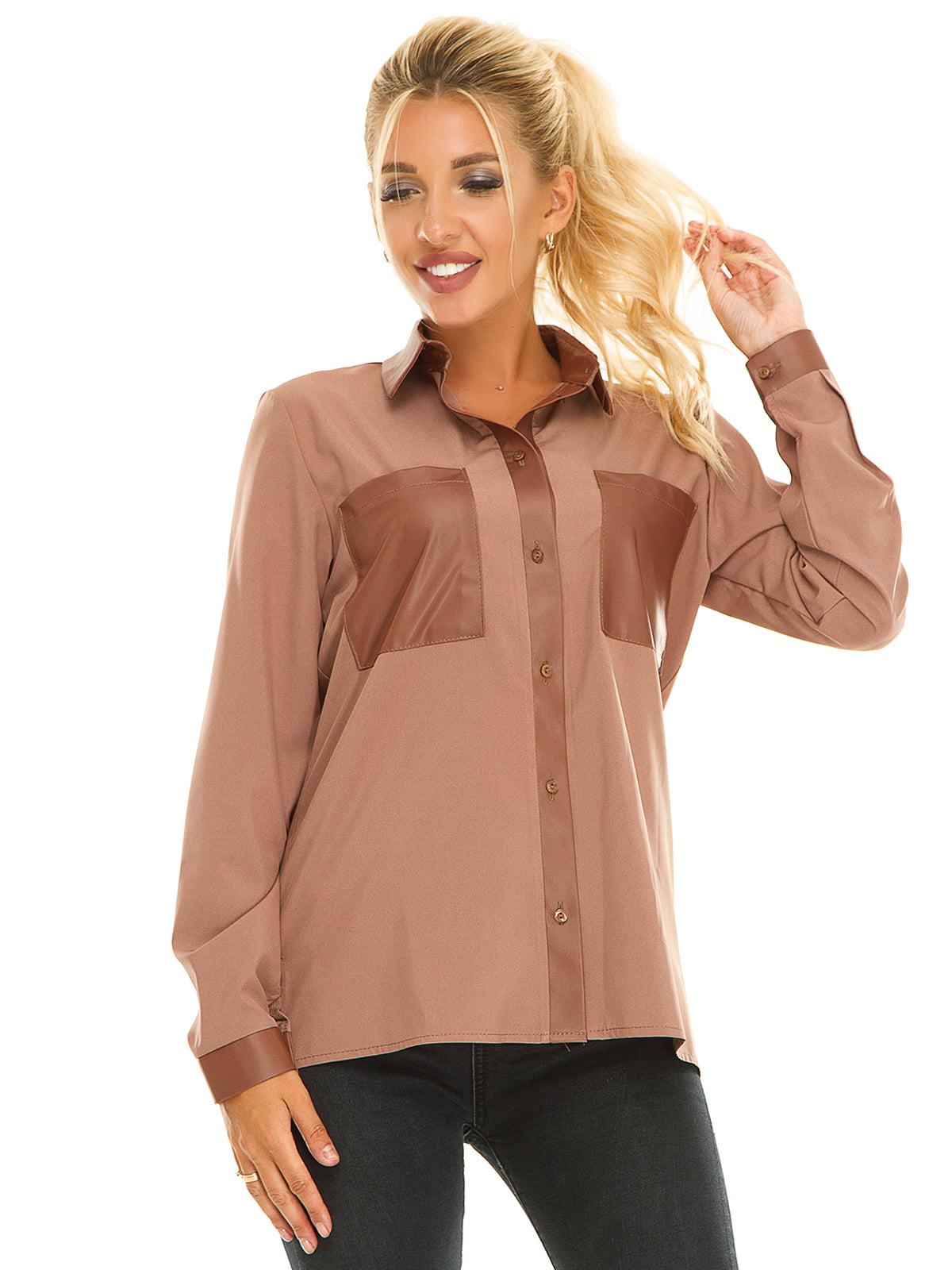 Рубашка бежевая | 5181235