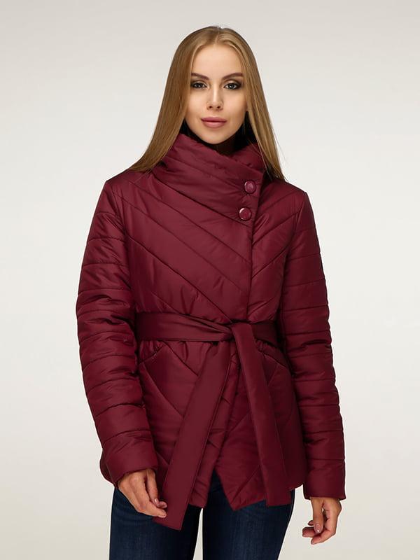 Куртка темно-красная   5179087