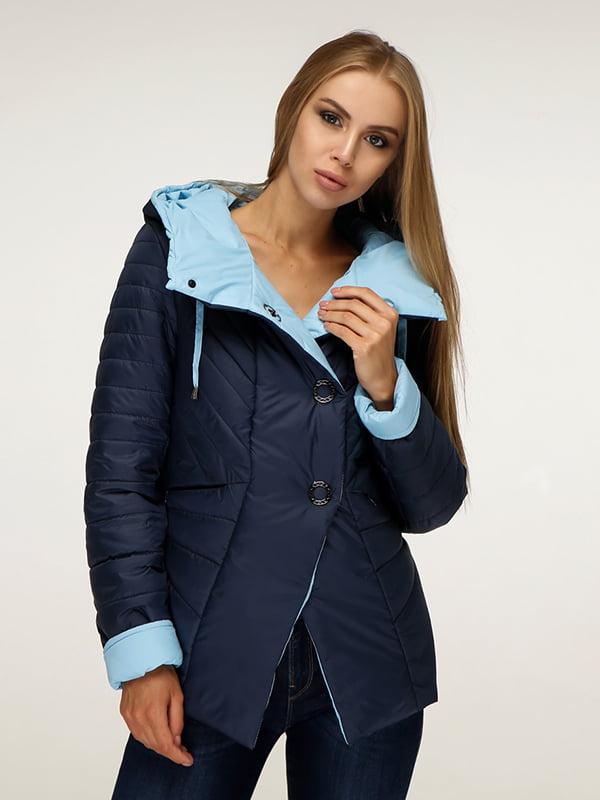 Куртка синя | 5181395