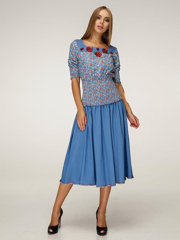 Костюм: блуза і спідниця | 5181397