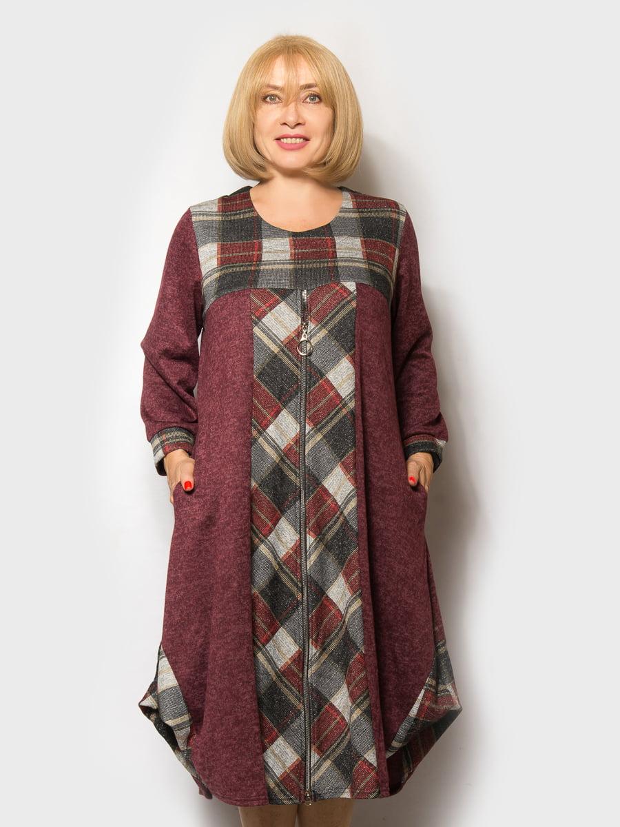 Сукня бордова | 5181633