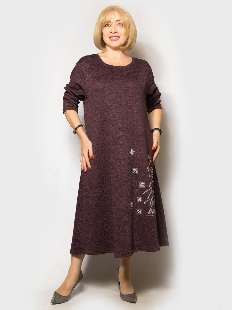 Платье бордовое | 5181664