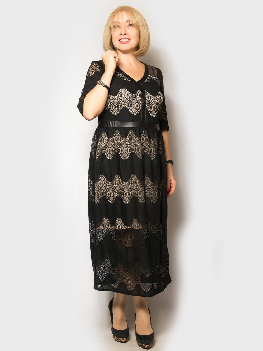 Платье черное | 5181665