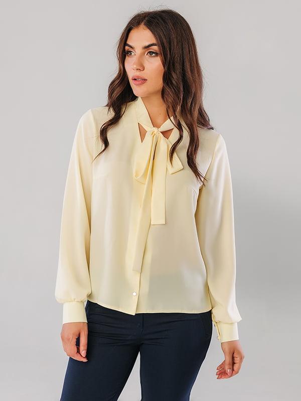 Блуза нежно-желтая   5181988