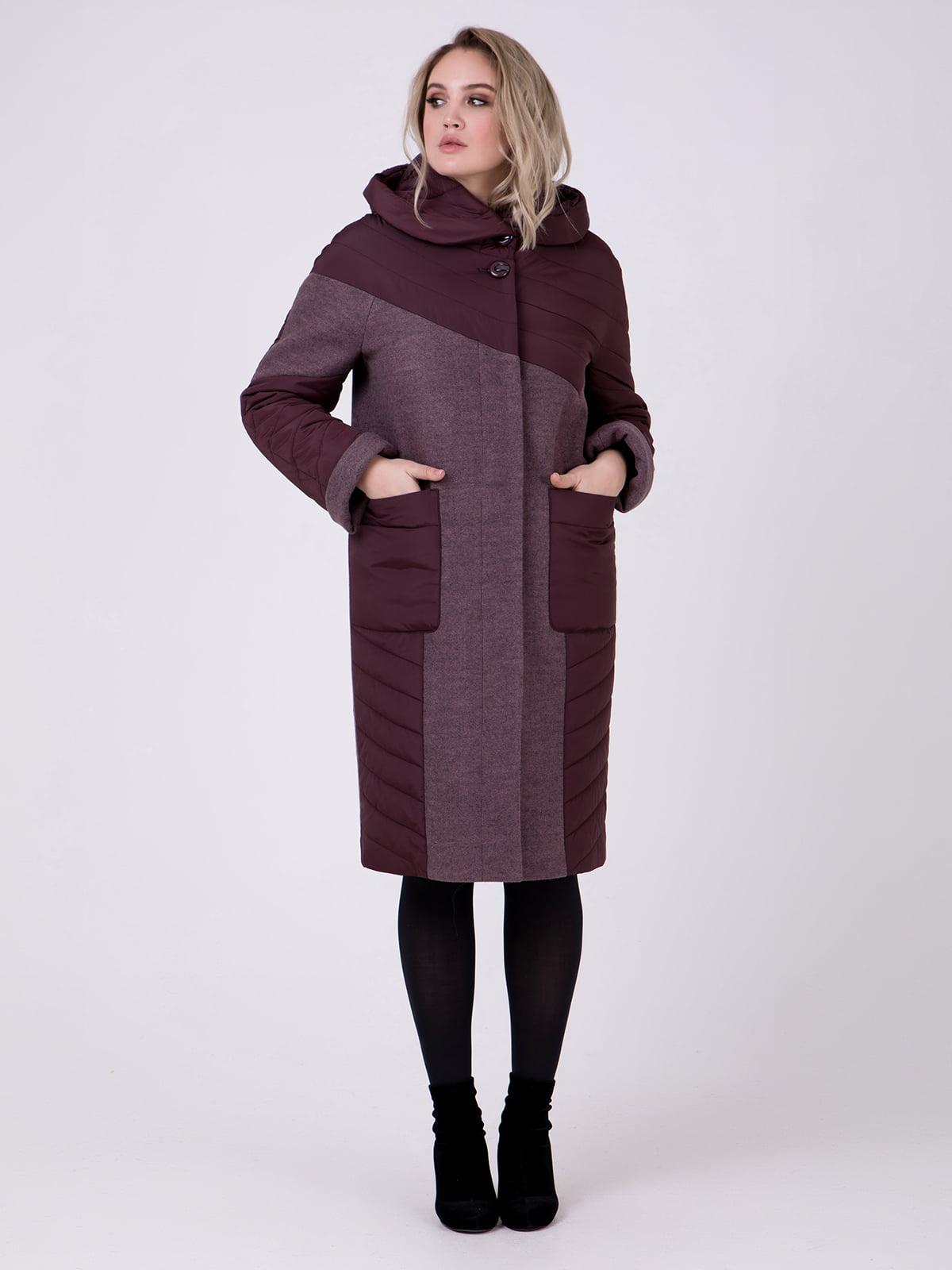 Пальто коричневе | 5182888
