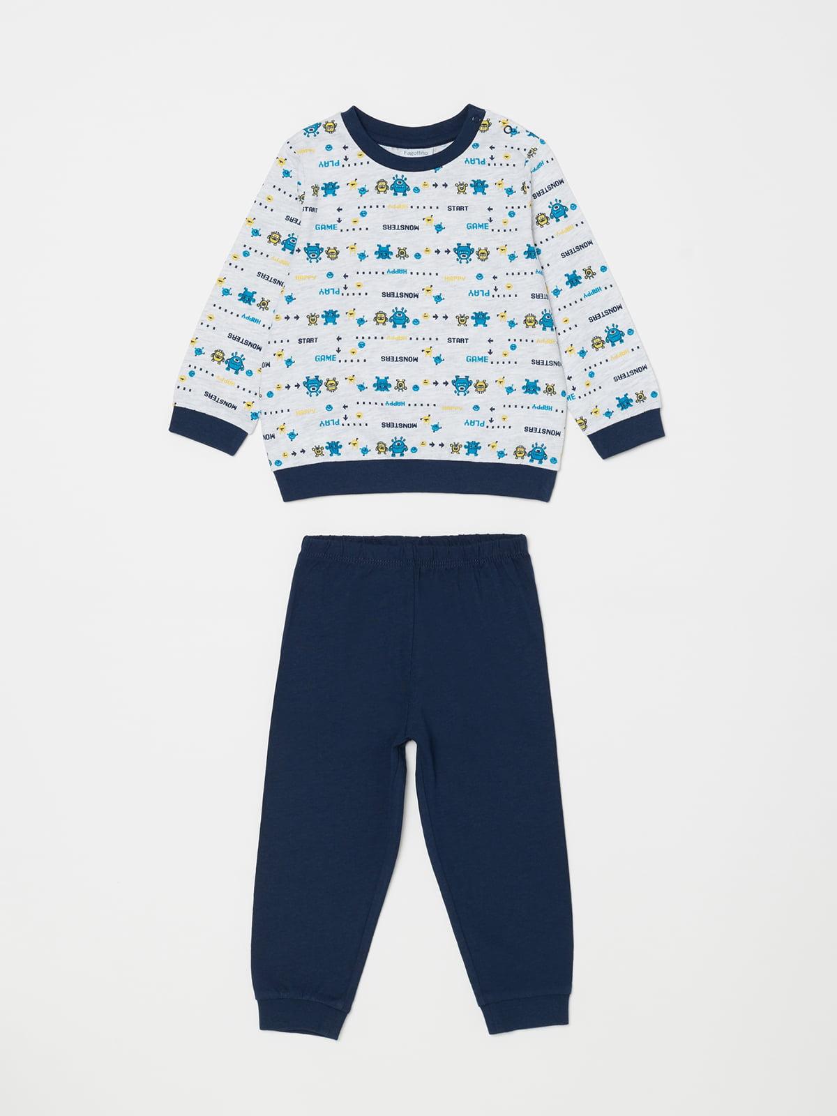 Піжама: джемпер і штани   5149133