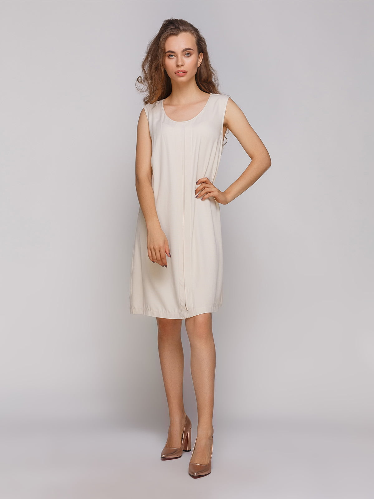 Сукня бежева | 4560089