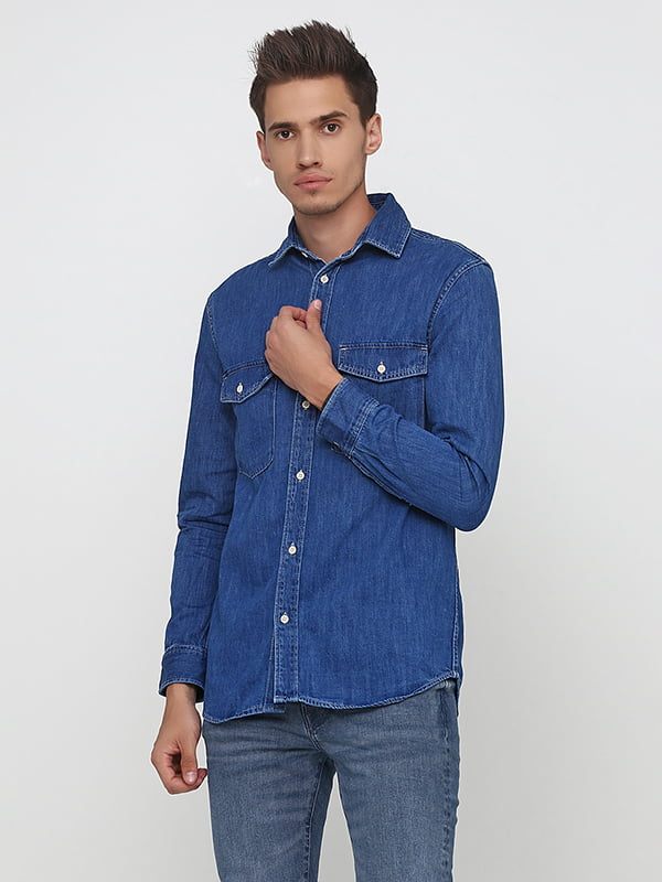 Сорочка синя   5176624