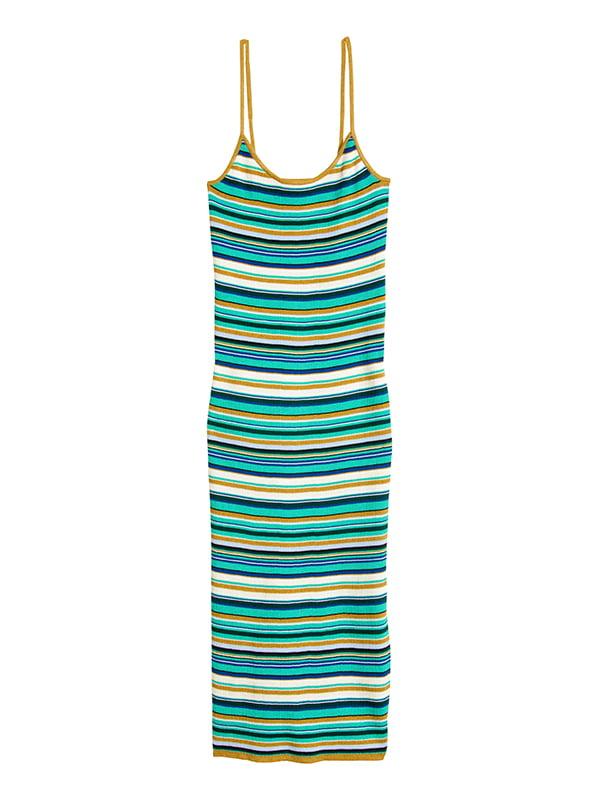 Платье в полоску | 5185021