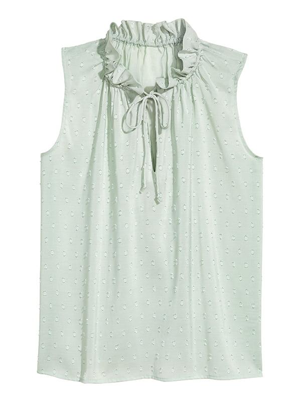 Блуза цвета мяты | 5185187