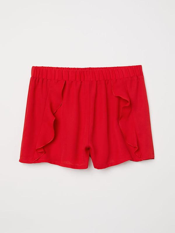 Шорты красные | 5185336