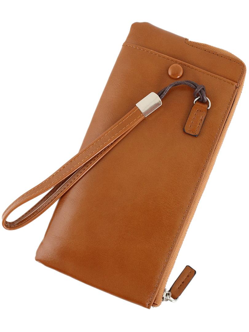 Гаманець-портмоне світло-коричневий | 5186129