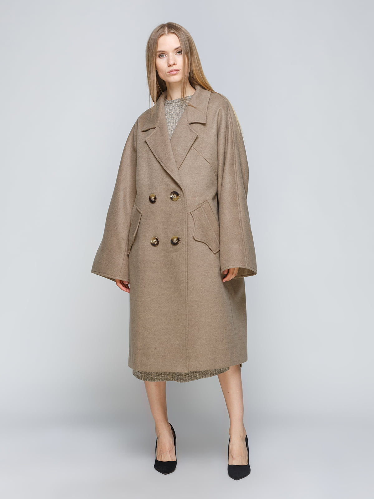 Пальто зеленое   5182876