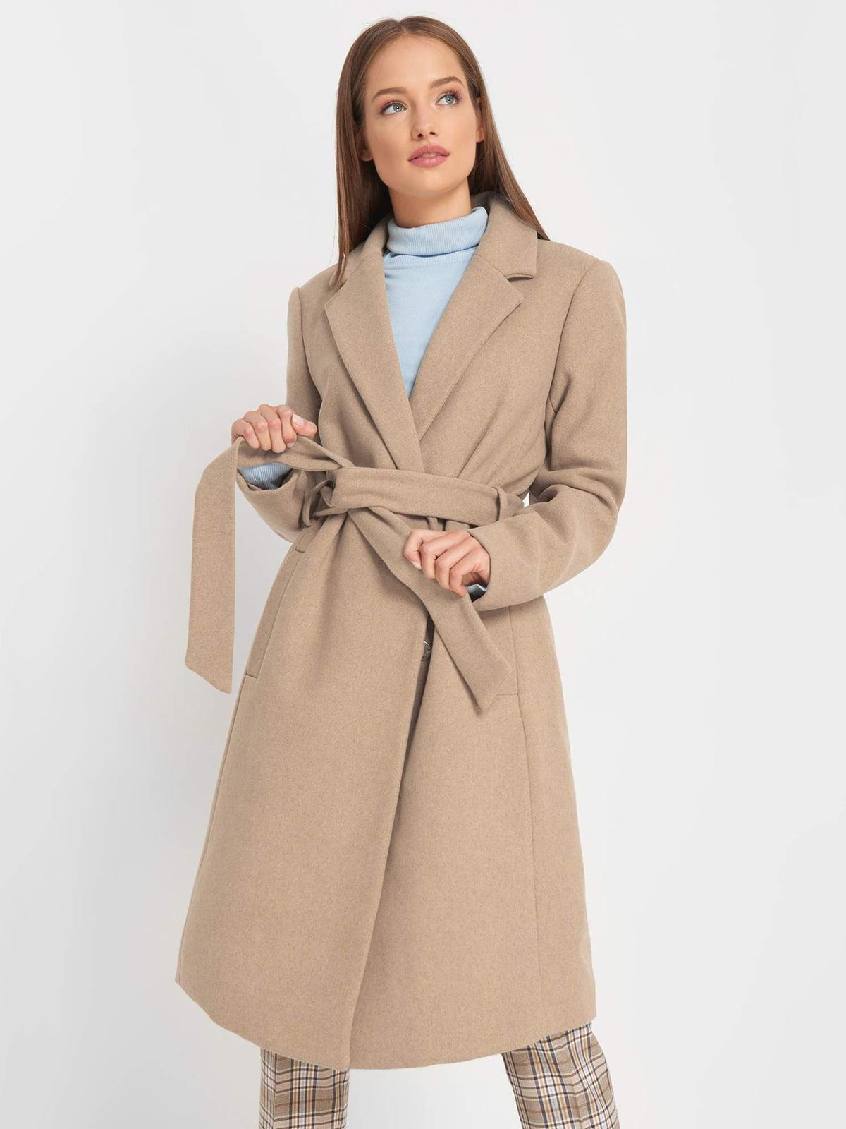 Пальто бежеве | 5187203