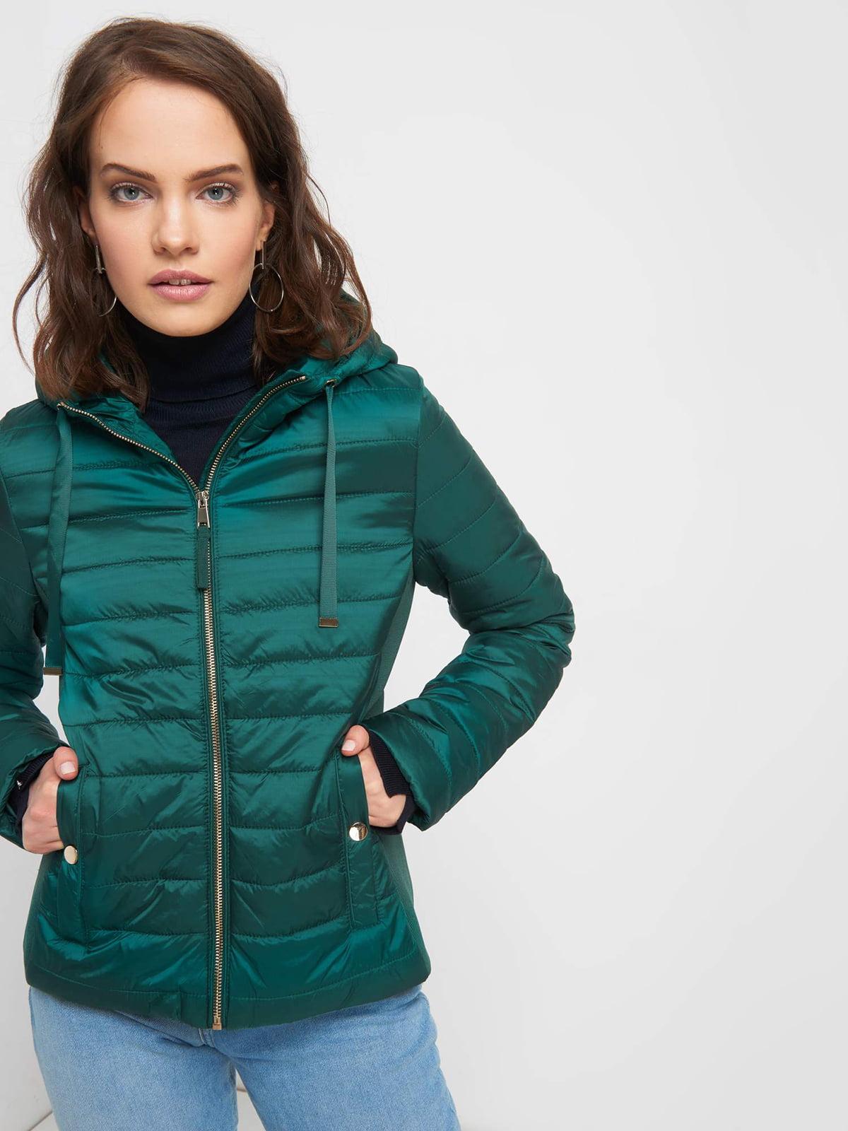 Куртка зелена | 5187175