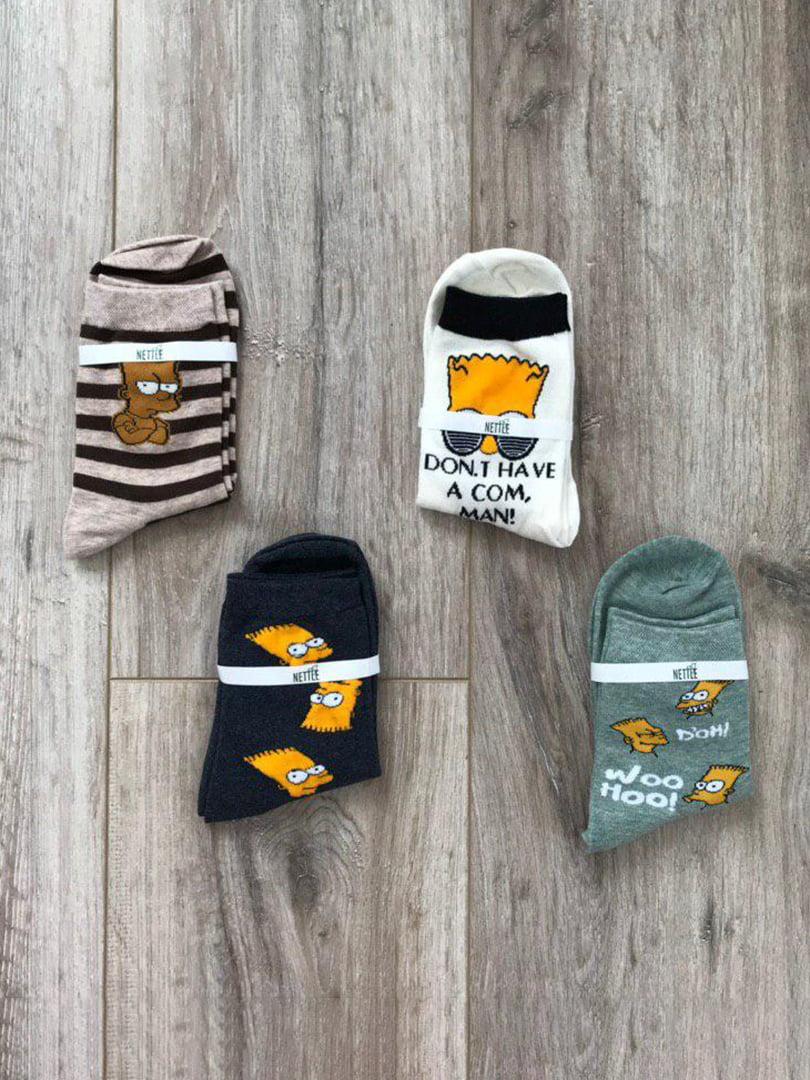 Набір шкарпеток (4 пари) | 5187316