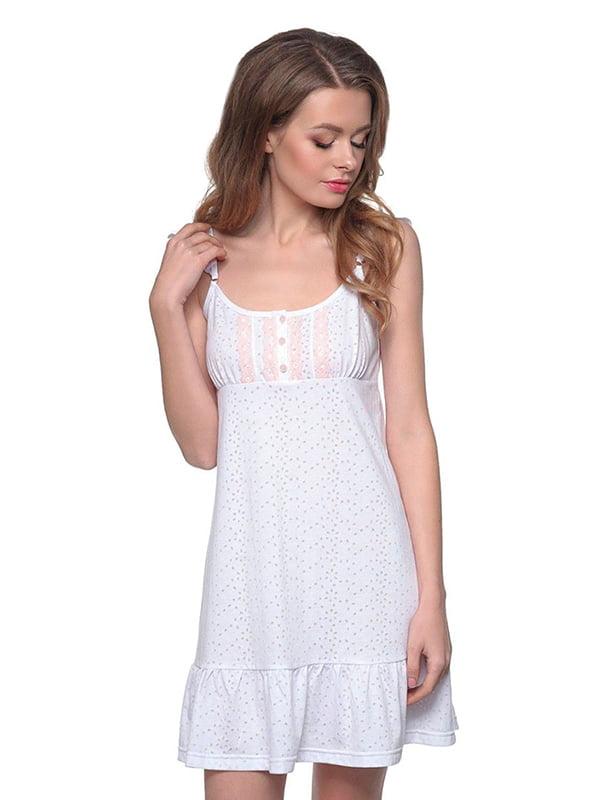 Ночная рубашка белая | 5182934
