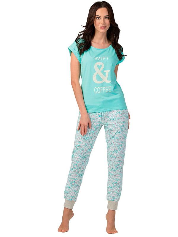 Комплект: футболка и брюки | 5192043