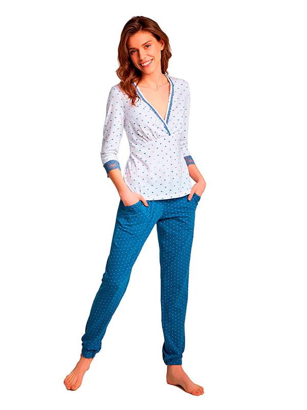 Комплект: лонгслив и брюки | 5192077