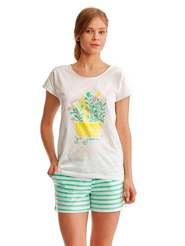 Комплект: футболка и шорты | 5192109