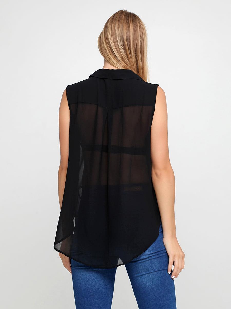 Блуза черная   5185299