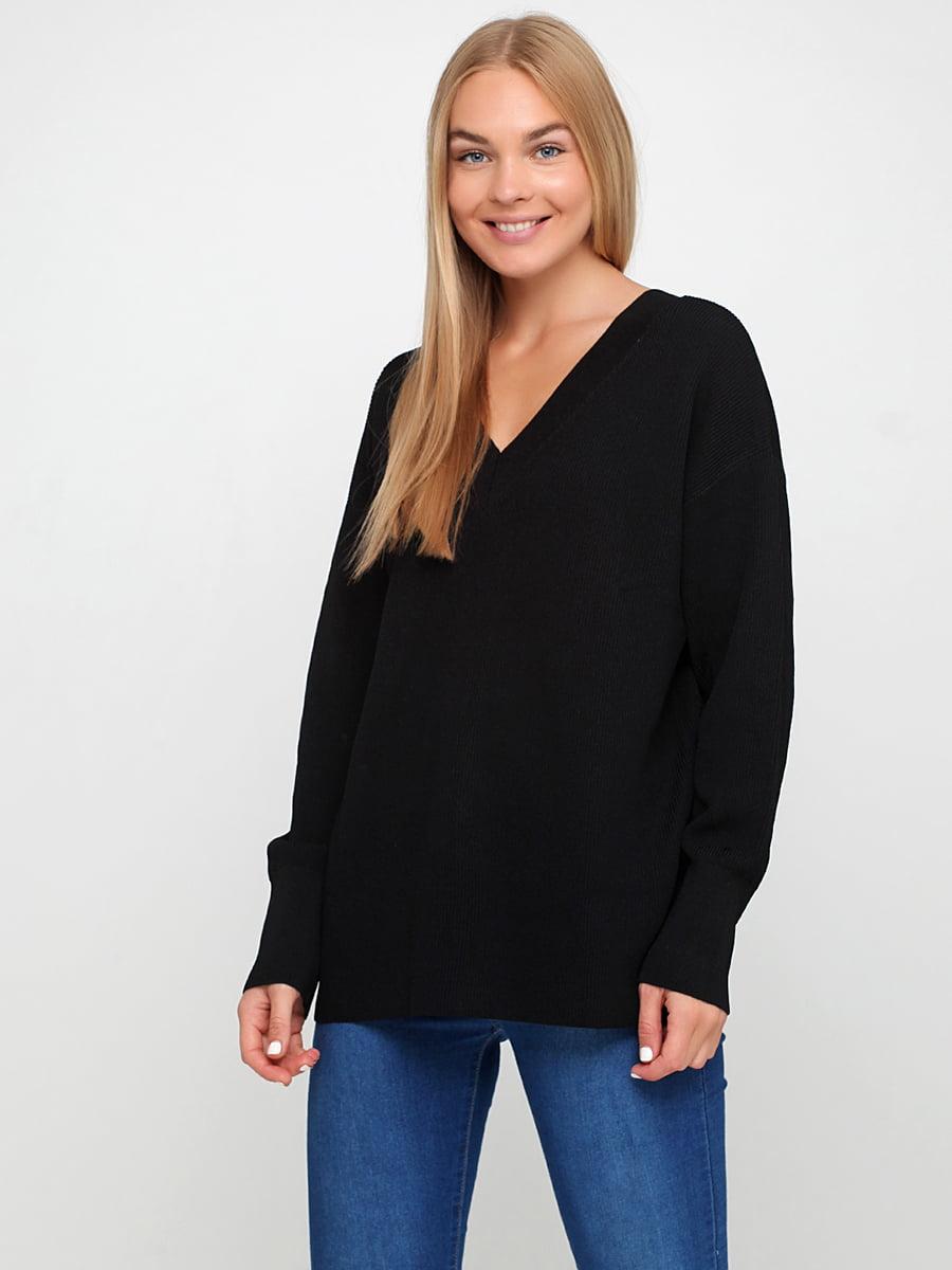 Пуловер черный | 5185411