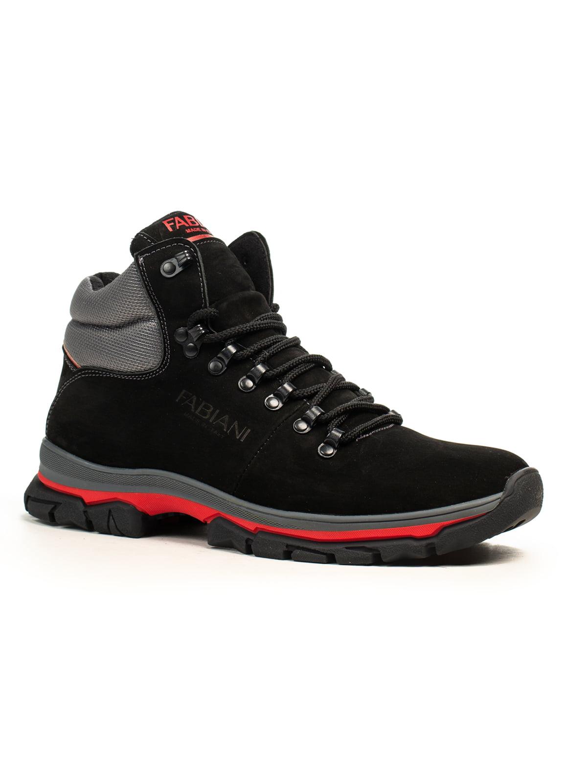 Черевики чорно-червоні | 5183091