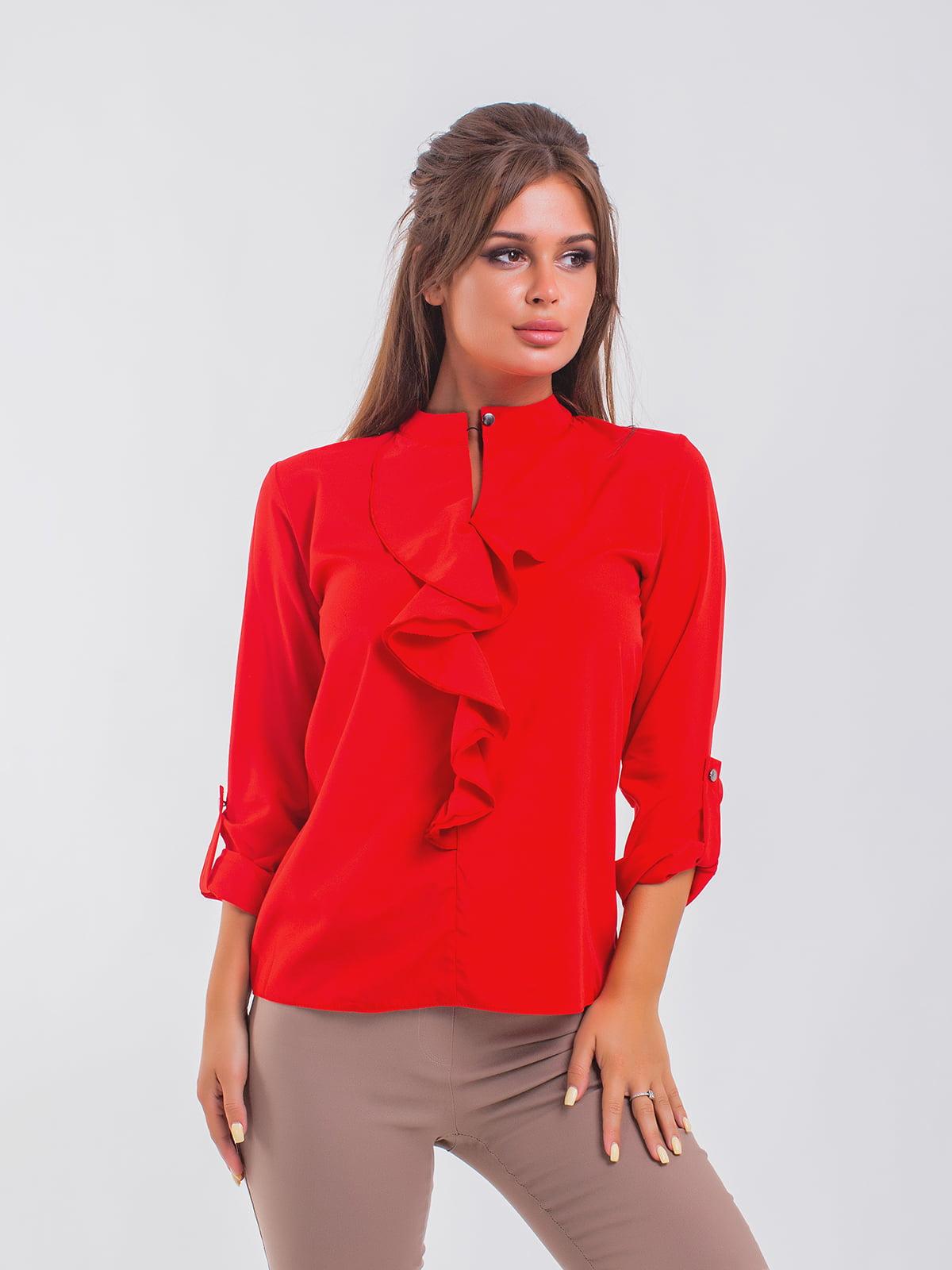 Блуза красная   5193973
