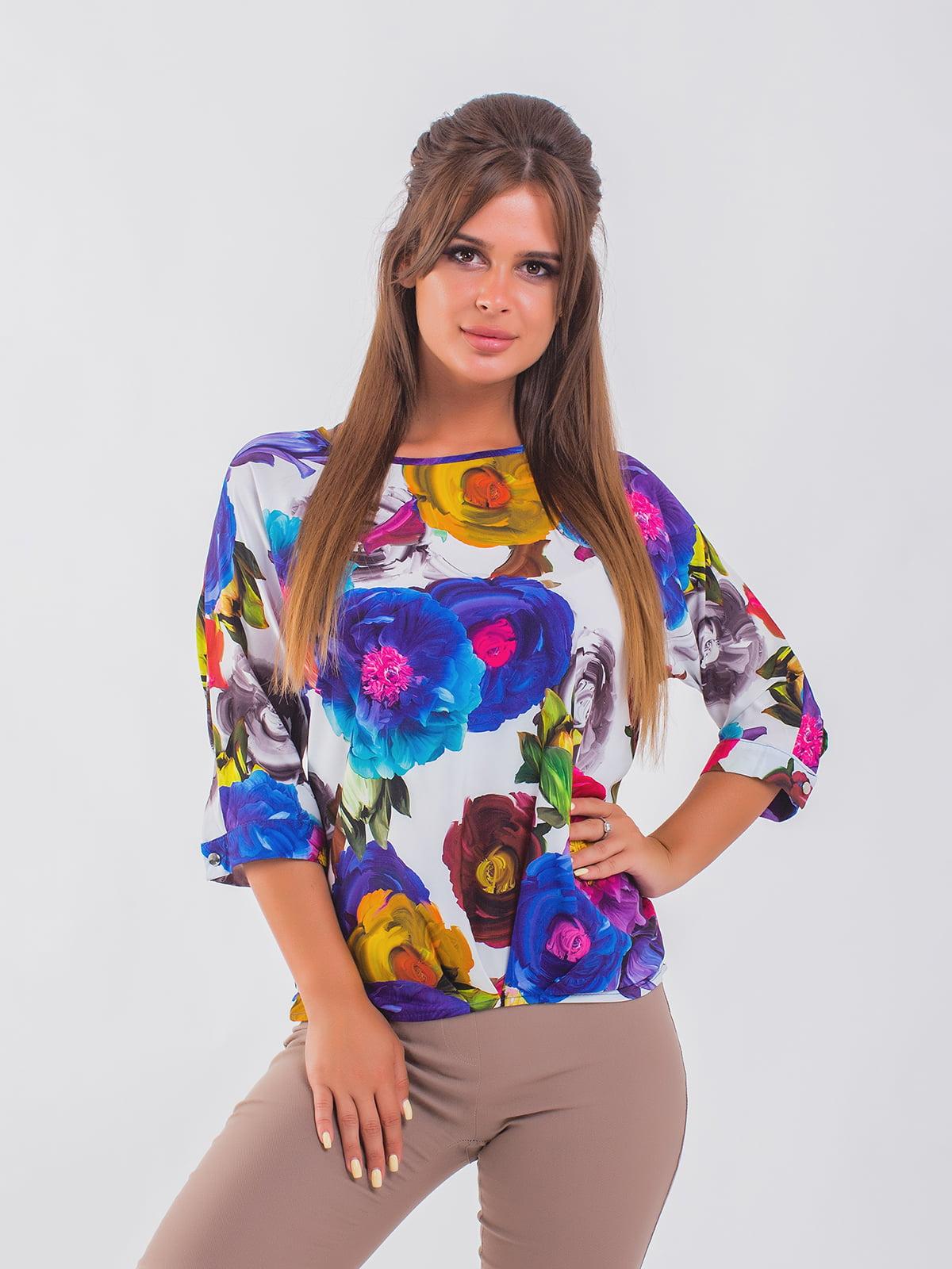 Блуза синяя | 5193978