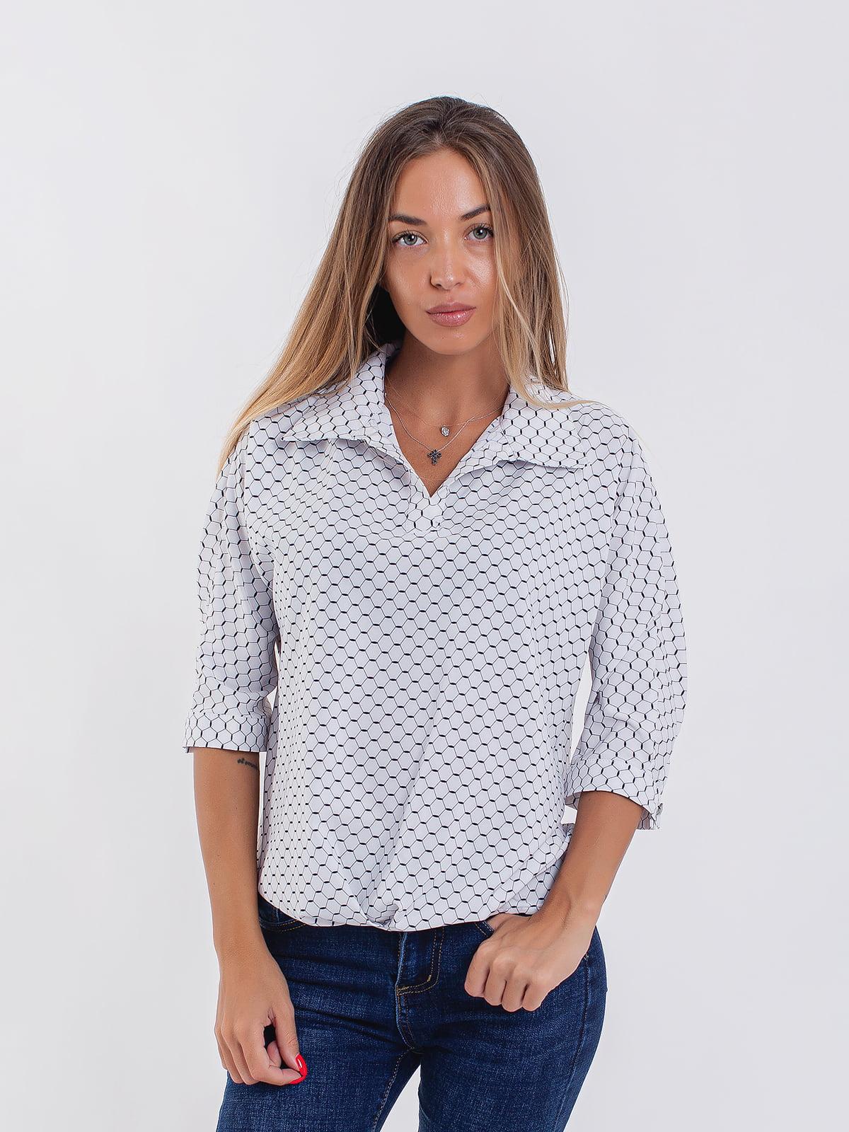 Блуза белая | 5194014