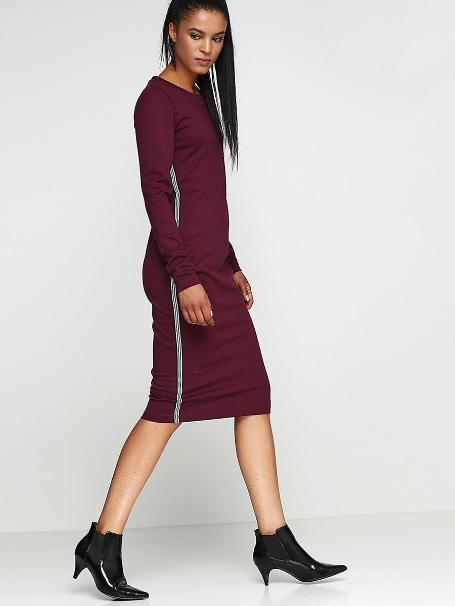 Сукня бордова | 5194393
