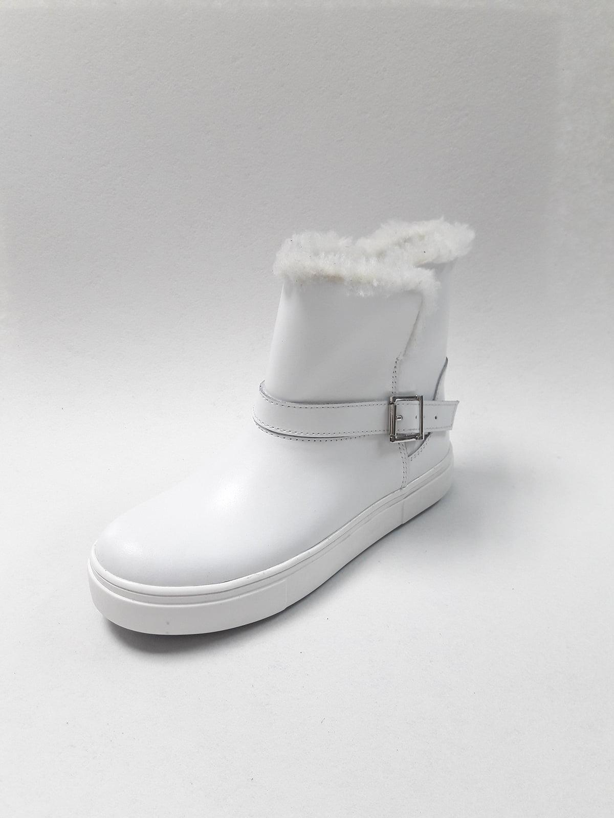Ботинки белые | 5194536