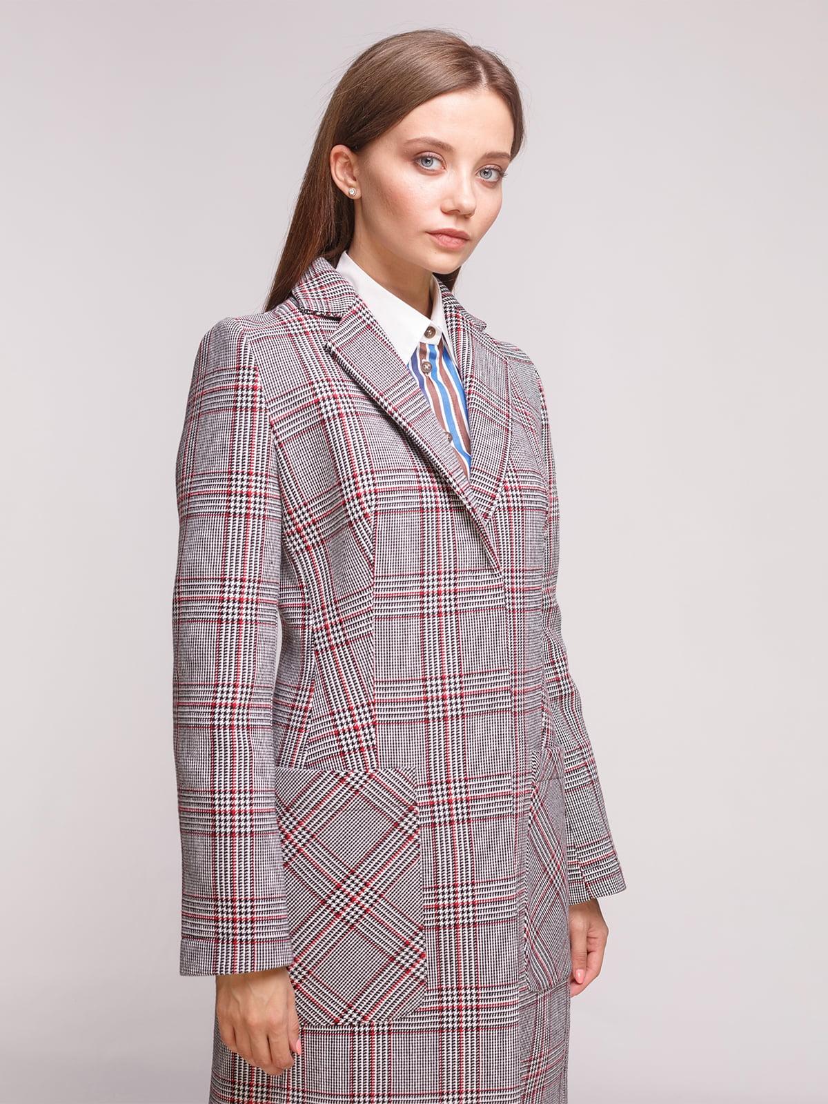 Пальто трикольорове | 5179138