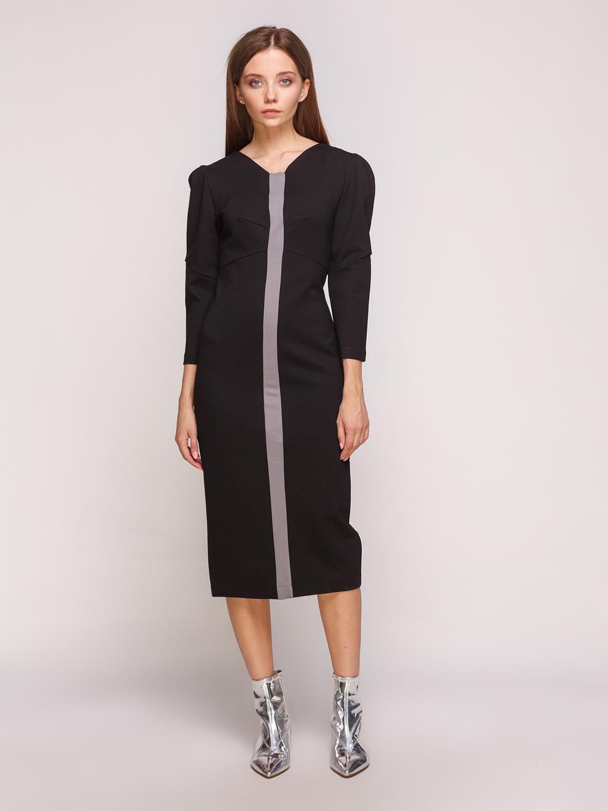 Сукня сіро-чорна | 5168227