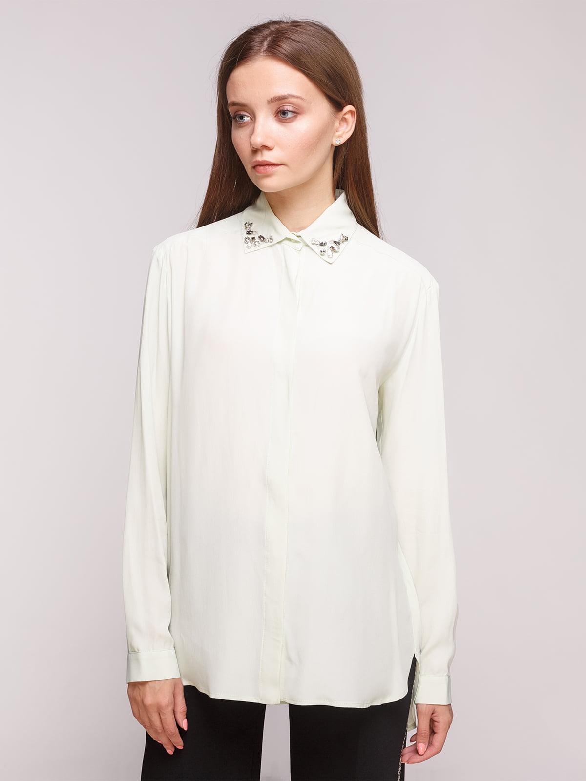 Блуза салатова | 5163163
