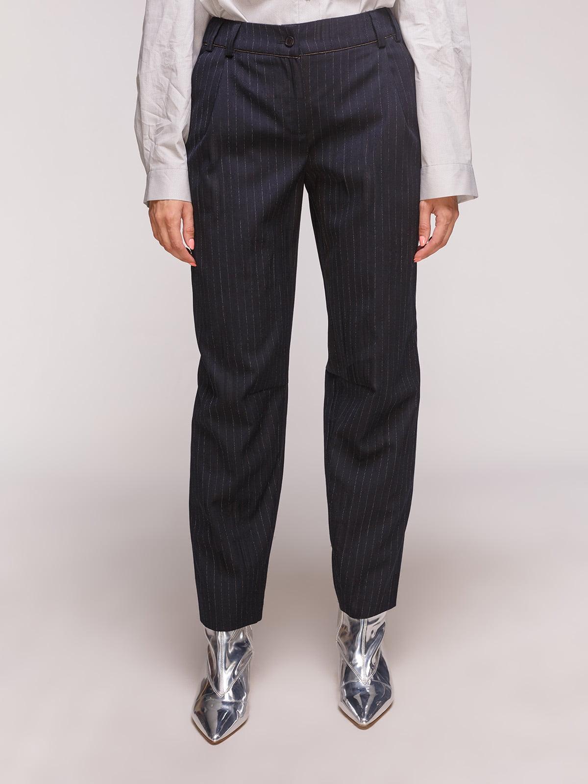 Штани чорно-білі | 5179137
