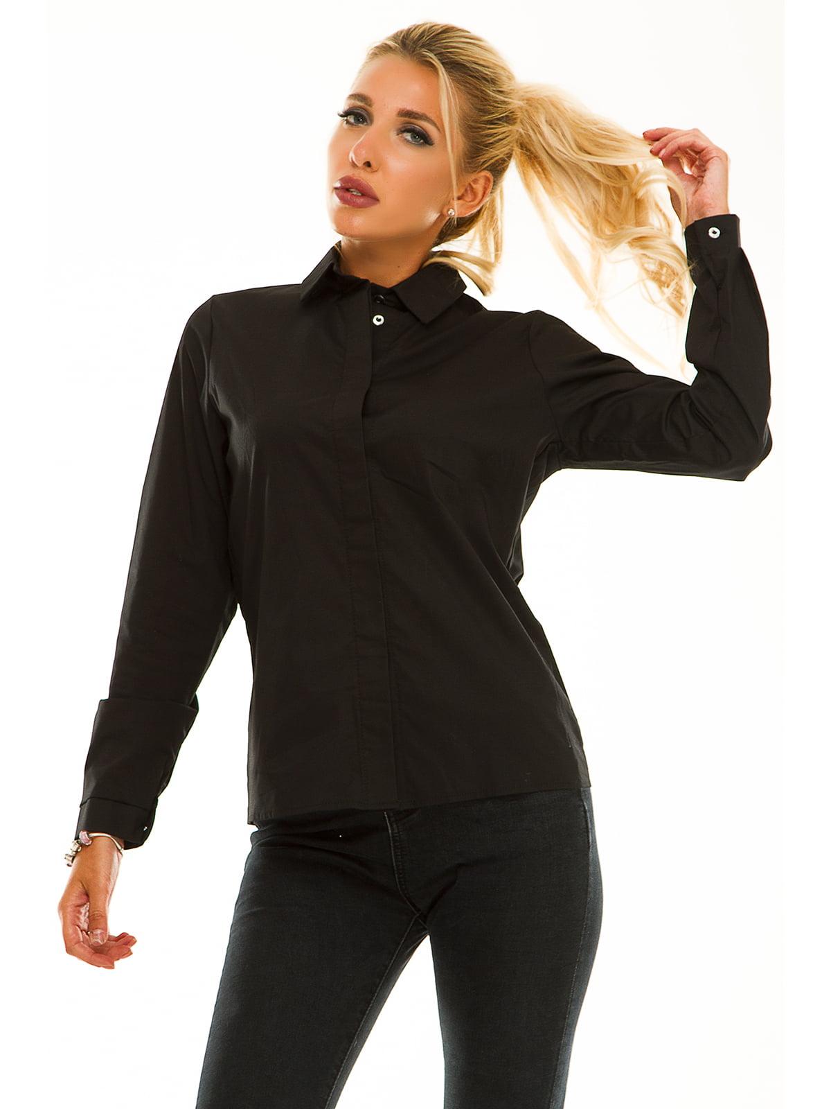 Рубашка черная | 5195789