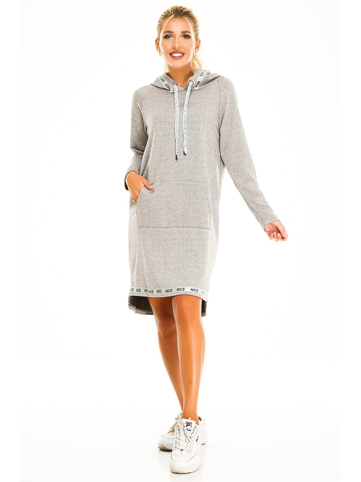 Платье серое | 5195808
