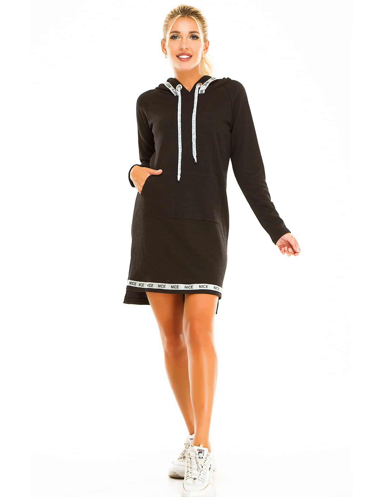 Платье черное | 5195811