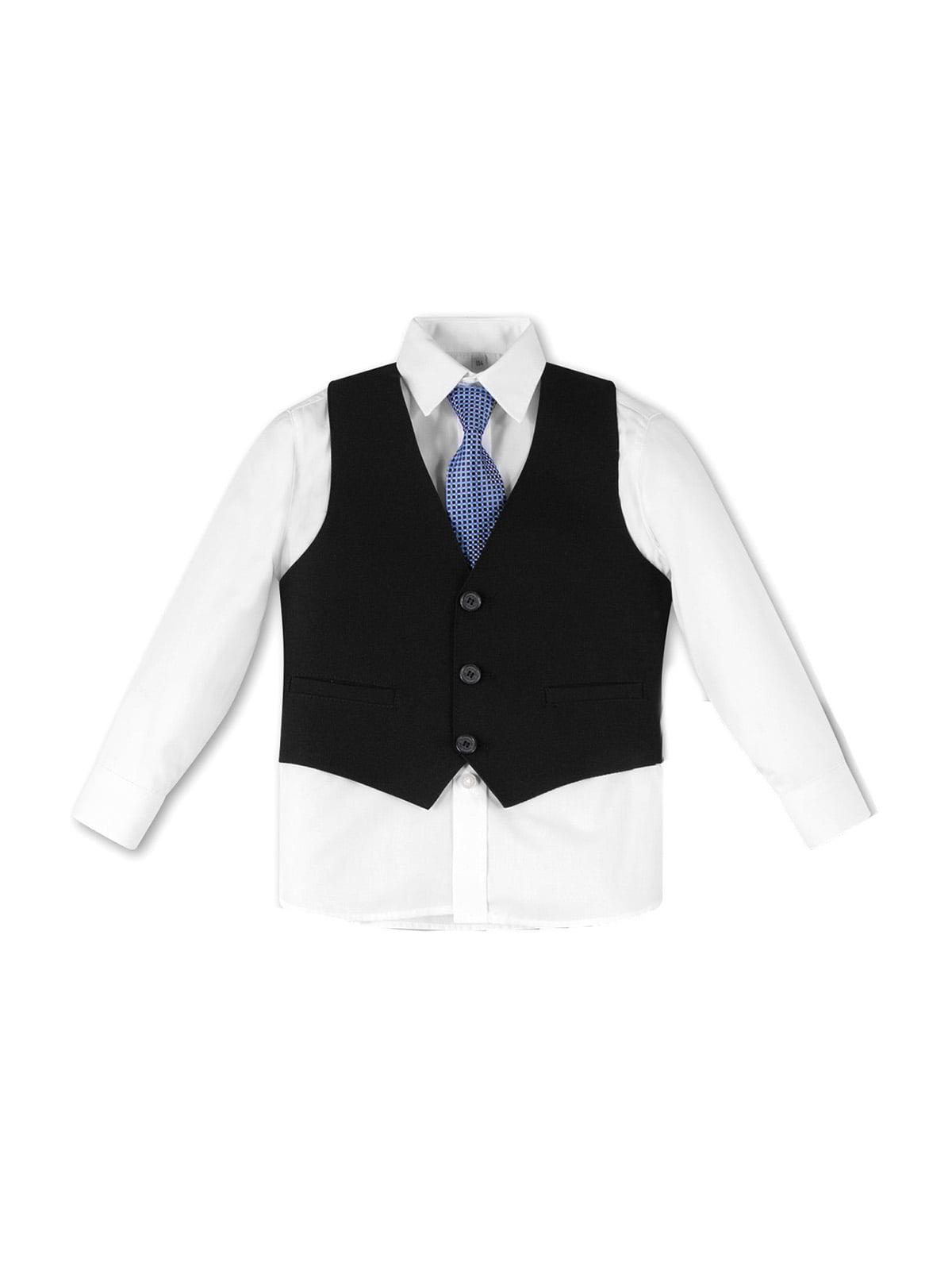Комплект: рубашка, галстук и жилет | 5195475