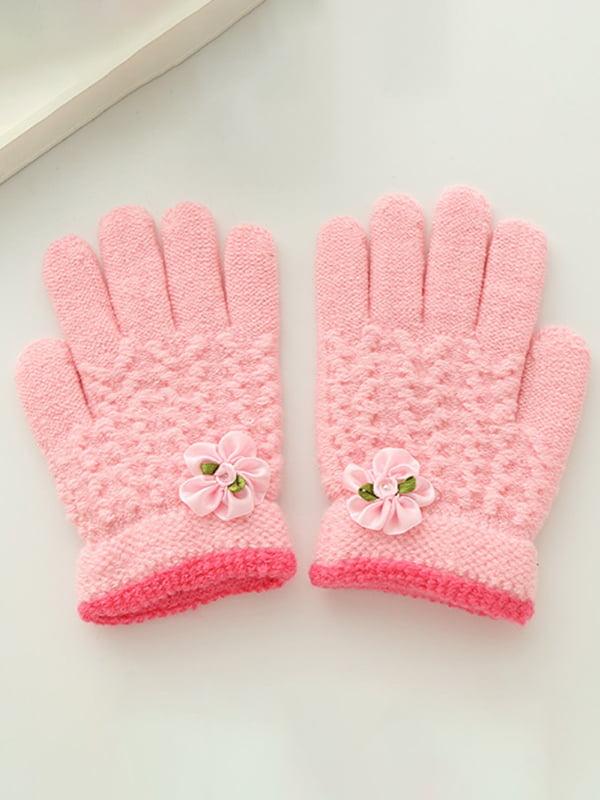 Перчатки розовые | 4678835