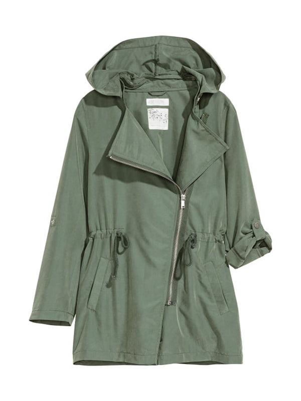 Куртка кольору хакі | 5196076