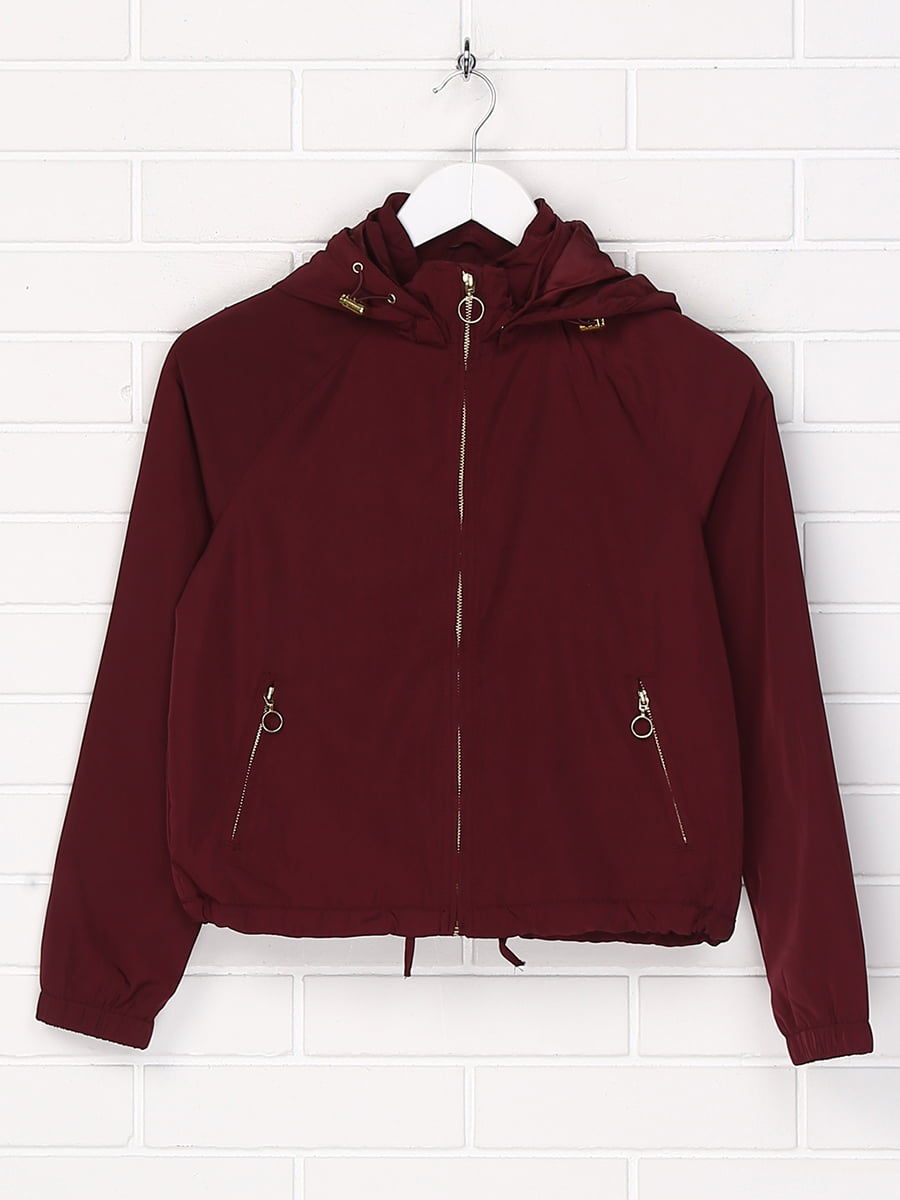 Куртка бордова | 5196096