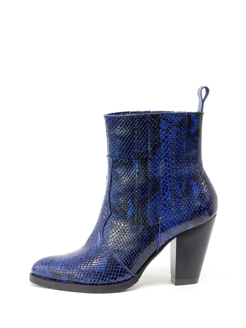 Ботинки синие | 5196404