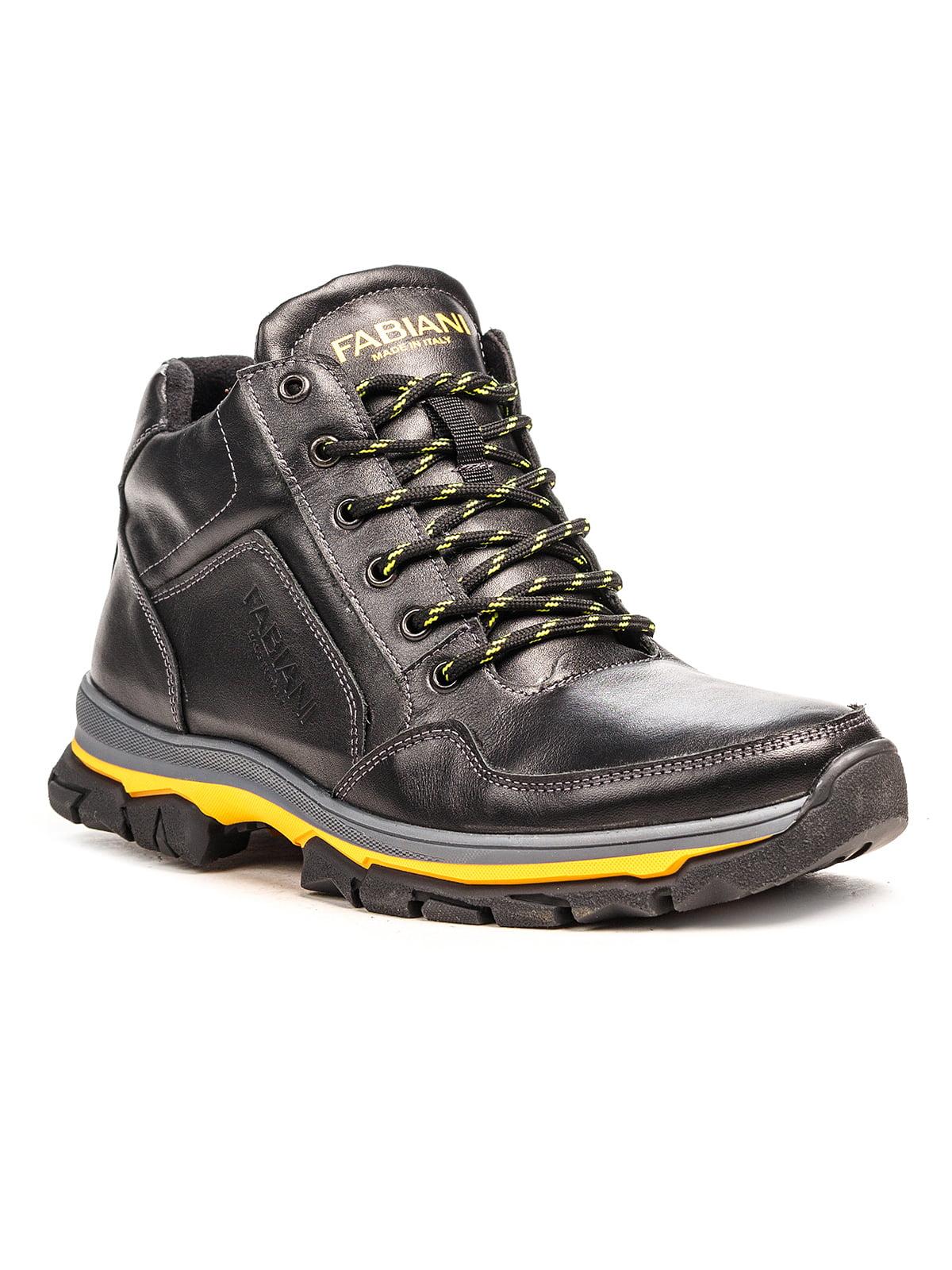 Ботинки черные   5183084
